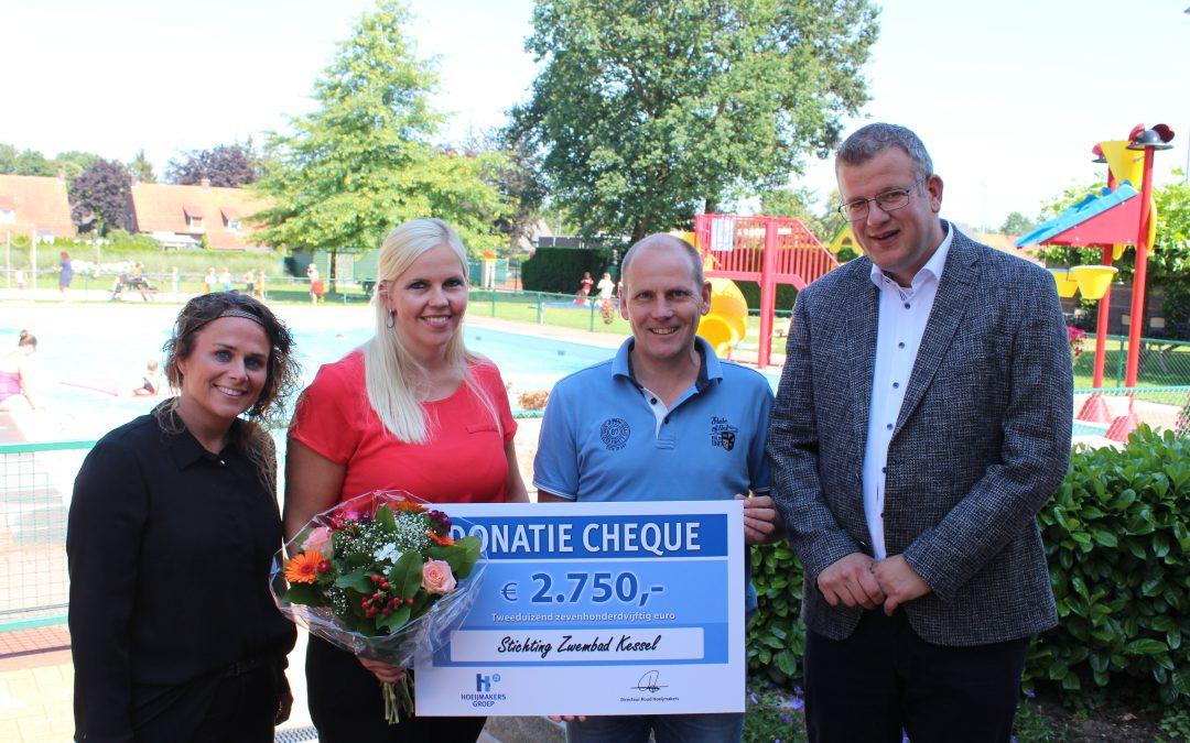 Air trampoline dankzij gulle bijdrage Hoeijmakers Groep